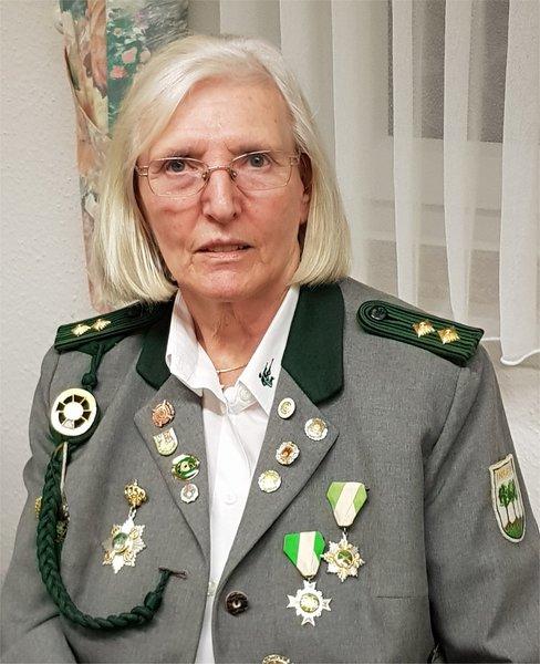 Seit 60 Jahren Mitglied: Monika Vogel