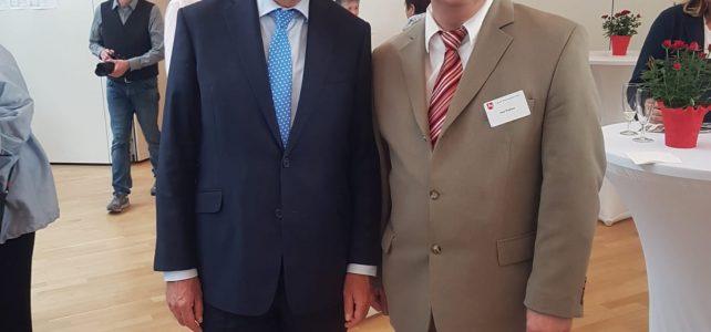Ministerpräsident Stephan Weil würdigt das Engagement von Uwe Klokow