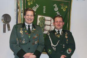 Christoph Warnecke (links) ist Nachfolger von Kevin Steinhof als 2. Schießsportleiter