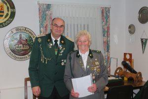 Inge Aue ist seit 50 Jahren im Verein.